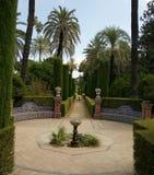 Alcázar Севилья Стоковая Фотография