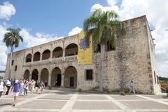 Alcázar DE Colón o Columbus Alcazar Stock Afbeelding