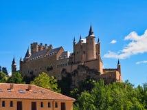 Alcázar of Segovia, Castile and León, Spain. The Alcázar of Segovia, Segovia Fortress, Castle or Palace, currently a military museum, Segovia, Castile stock images