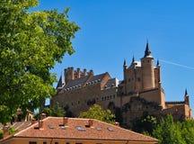 Alcázar of Segovia, Castile and León, Spain. The Alcázar of Segovia, Segovia Fortress, Castle or Palace, currently a military museum, Segovia, Castile royalty free stock photos