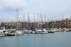 ` Alcúdia del puerto d, en Mallorca Imagenes de archivo