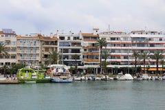 ` Alcúdia del puerto d, en Mallorca Fotografía de archivo