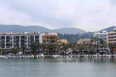 ` Alcúdia del puerto d, en Mallorca Fotografía de archivo libre de regalías
