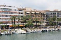 ` Alcúdia del puerto d, en Mallorca Foto de archivo libre de regalías
