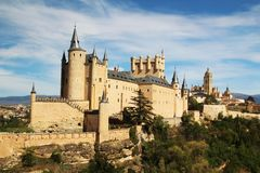 Alcà ¡ zar塞戈维亚,西班牙 免版税库存照片