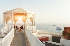Alcôve l'été en cristal de mer en mer mediterranian aucun lever de soleil de personnes Photos stock
