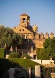 Alcázar de los Reyes Cristianos, Cordoba Stock Photography