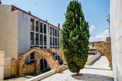 Alcañiz、镇和自治市 免版税库存照片