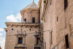Alcañiz、镇和自治市 免版税图库摄影