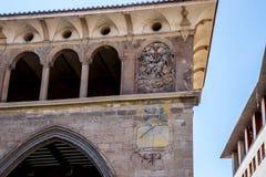 Alcañiz、镇和自治市 免版税库存图片