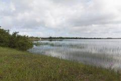 Alcaçuz-Lagune, Nizia Floresta, RN, Brasilien Lizenzfreie Stockbilder