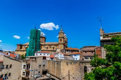 Alcañiz, town and municipality. Alcañiz, town and municipality of Teruel province in the autonomous community of Aragon, Spain stock images