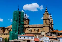 Alcañiz, town and municipality. Alcañiz, town and municipality of Teruel province in the autonomous community of Aragon, Spain royalty free stock photography