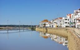 Alcacer делает Sal, типичное село. стоковое изображение rf