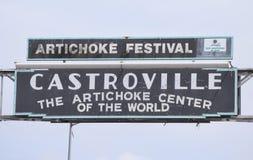Alcachofas de Castroville Foto de archivo libre de regalías