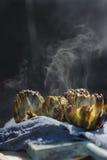 Alcachofra grelhada Foto de Stock Royalty Free