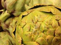 Alcachofra macro Fotografia de Stock Royalty Free