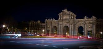 Alcalá street Stock Photography