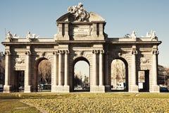 Alcala Arch Stock Image
