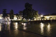 Alcala de Henares, Madrid, españa 28 de Noviembre de 2017: Winkel des Leistungshebels Lizenzfreie Stockfotos