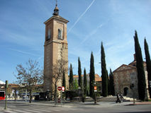 Alcala DE Henares Madrid provincie Spanje Europa Royalty-vrije Stock Afbeeldingen