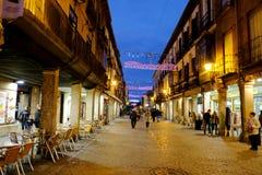 Alcala de Henares, Madrid, Spain- December 5, 2016: The Mayor st Stock Photography