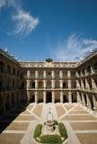 alcala de henares madrid spain universitetar Royaltyfri Foto
