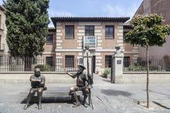 Alcala de Henares, Madrid, Spanien Royaltyfria Bilder