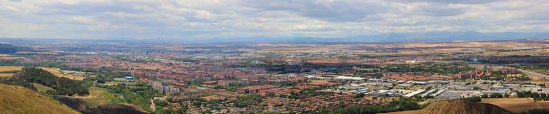 Alcala de Henares Panoramic άποψη Στοκ Φωτογραφίες