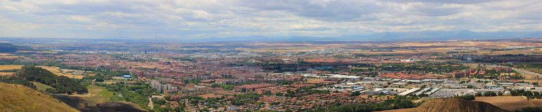 Alcala de Henares Panoramic view Stock Photos