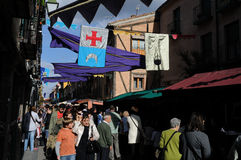 Alcala de Henares. Spain Royalty Free Stock Images