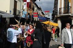 Alcala de Henares. Spain Stock Images