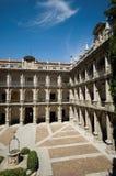 Alcala DE Henares Universiteit. Madrid, Spanje royalty-vrije stock foto