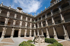 Alcala de Henares University. Madrid, Spain Royalty Free Stock Image