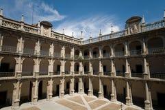 Alcala de Henares University. Madrid, Spain stock photo
