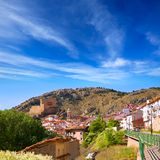 Alcala de la Selva in Teruel village near Virgen de la Vega Royalty Free Stock Images