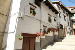 Alcala de la Selva village, Teruel,Spain Stock Photography