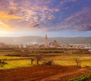 Alcala de Xivert Chivert in Castellon Spagna Fotografia Stock Libera da Diritti