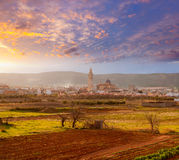 Alcala de Xivert Chivert na Espanha de Castellon Foto de Stock Royalty Free