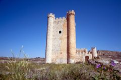 Alcala del Jucar (Albacete) in Spain Royalty Free Stock Images