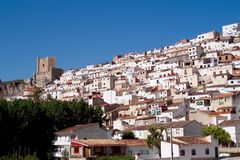 Alcala del Jucar (Albacete) in Spain Royalty Free Stock Photos