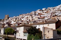 Alcala del Jucar (Albacete) in Spain Royalty Free Stock Photography