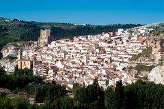 Alcala del Jucar (Albacete) in Spain Royalty Free Stock Photo