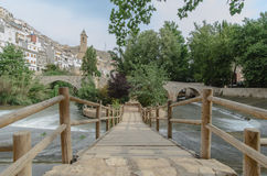 Alcala del Jucar landscape IV Royalty Free Stock Photo