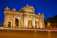 The Alcala Door Puerta de Alcala is a one of the ancient doors Stock Image