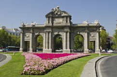 The Alcala Gate. Madrid. Spain. Royalty Free Stock Image