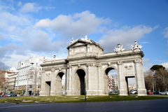 Alcala gate Royalty Free Stock Photography