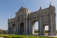 Alcala Gate Park in Europe Royalty Free Stock Images