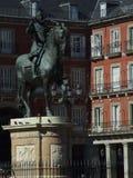 Alcalde de la plaza de Madrid Imagen de archivo