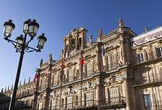 Alcalde de la plaza de Salamanca imagen de archivo